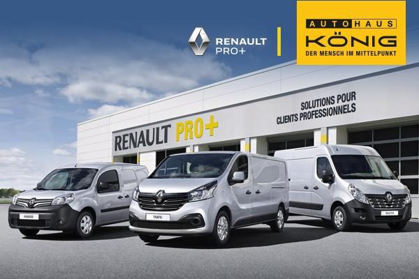 Bei König ohne Anzahlung - Renault Nutzfahrzeuge: Renault Kangoo Rapid, Renault Trafic und Renault Master